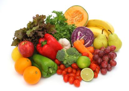 fruits et légumes frais bio