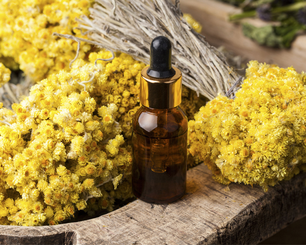 huile essentielle d'immortelle