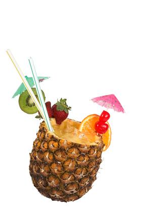 cocktail de fruits huile essentielle de cannelle