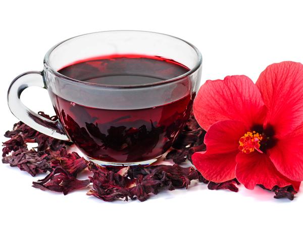 l'hibiscus en boisson rafraichissante