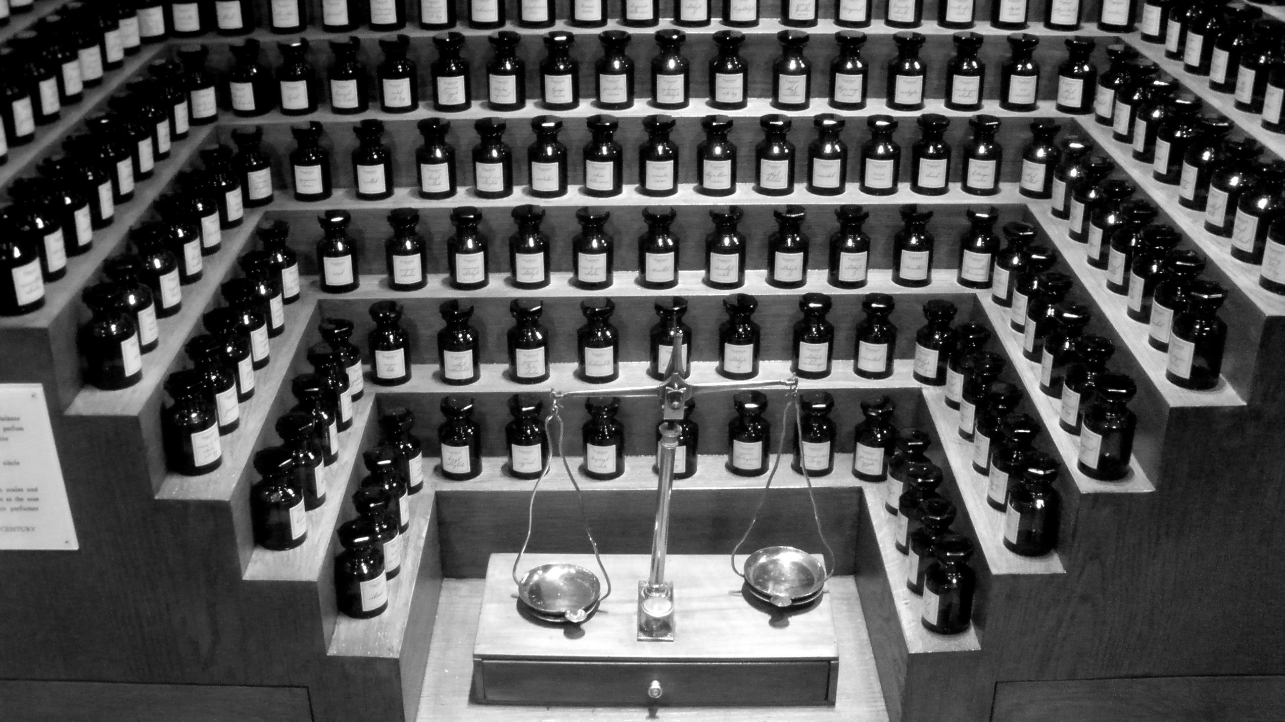 Fragonard musée du parfum la note de fond