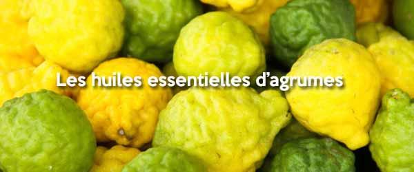 Huiles essentielles d'agrumes