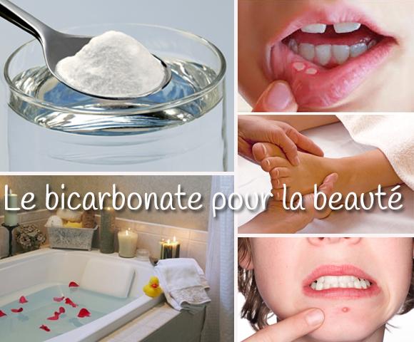 Bicarbonate et beauté